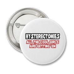 hysterectomy button