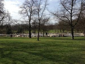 Hyde Park on 14/04/13