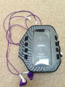 Yurbuds and Belkin armband