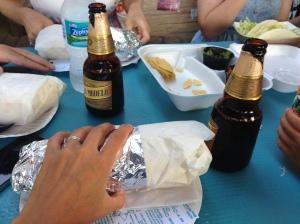 Da Kine Diego's aptly named Insane Burrito - AHMAZING!!!!!