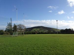 A Cavan mountain and a Gaelic football goal