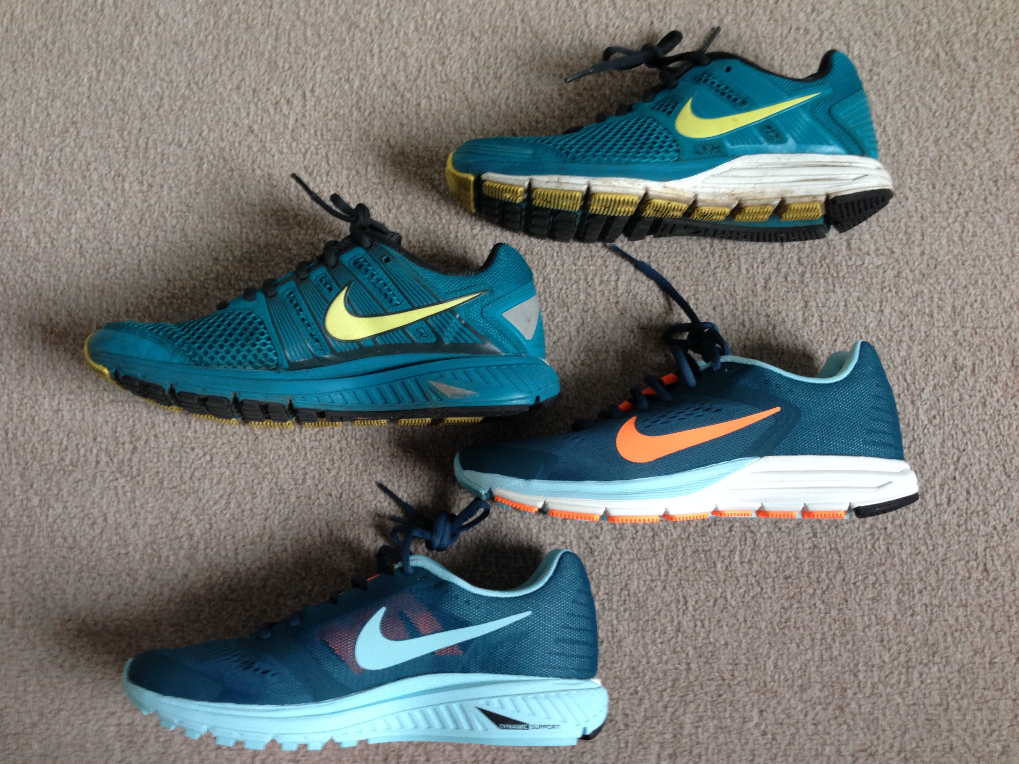 quality design 94b15 0fbfe New shoes – Nike Zoom Structure+17 – Hysterical Runner
