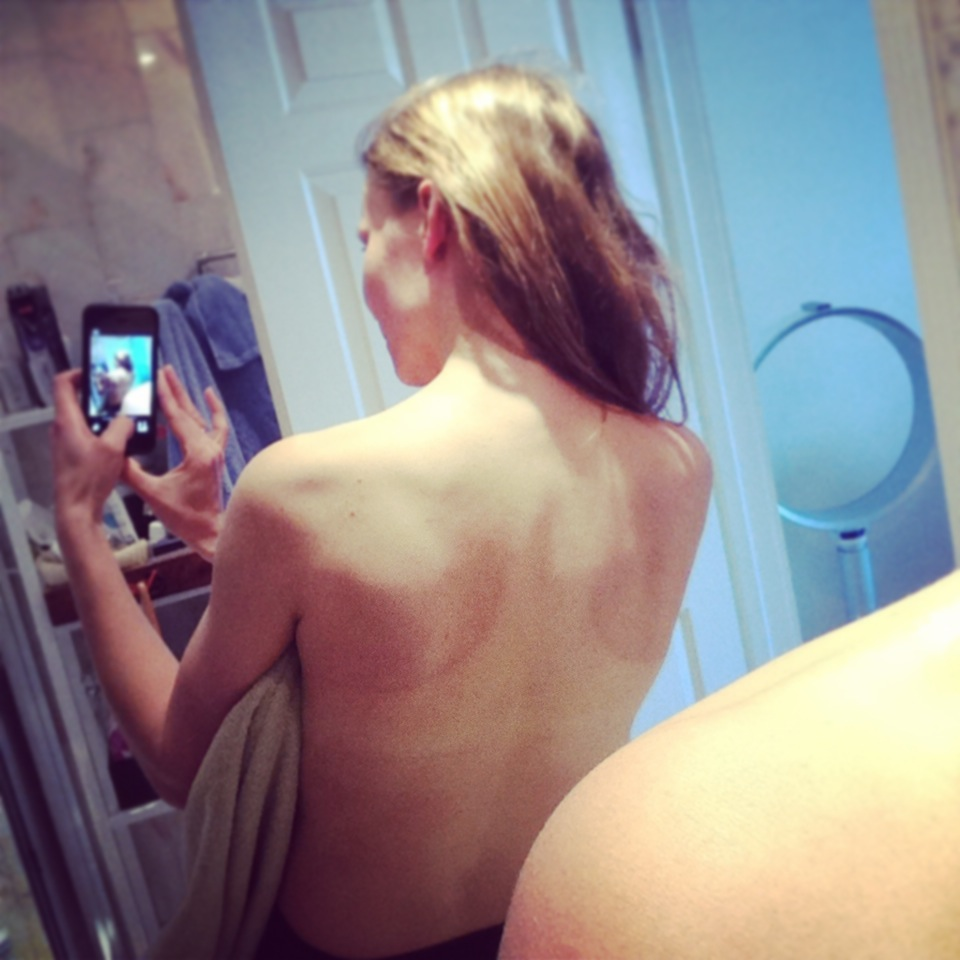 Regret, that Wife tan lines