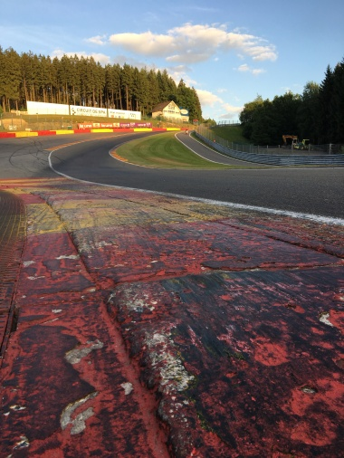 Eau Rouge at Spa-Francorchamps